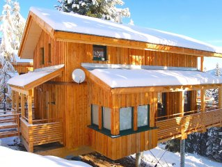 ***** Mountain Lodge Chalet Turrach Luxurious Ski & Wellness 10 pers, *****