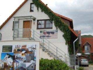 70qm grosses Appartement direkt im Zentrum von Wernigerode ,kostenloser Parkplatz