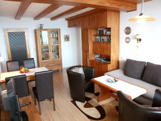 Spacious apartment (50 m2) on the Gerlitzen with an Alpine panorama and Lake Vi