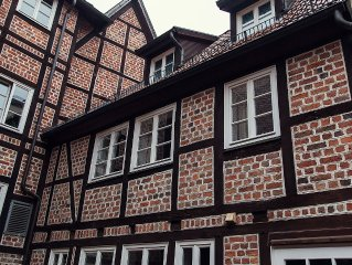 Charming apartment at the most beautiful and central square Luneburg