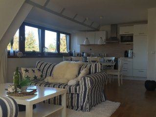 Sylt heart: light-flooded, spacious apartment in the heart of the island