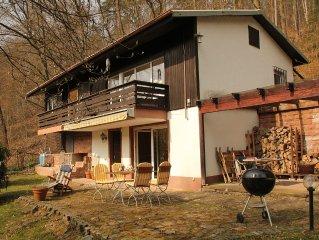 Idyllic Waldhaus in Schoenau. Sunny side. Near Heidelberg