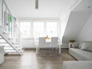 Komfortable, sonnige Wohnung in bester Lage Westerlands mit schonem Blick