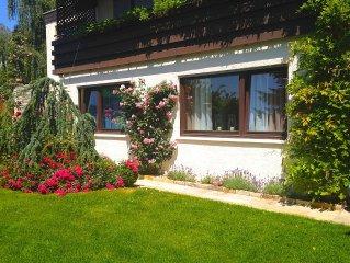 Individuelles Wohnen in ruhiger, sonniger Hanglage von Baden-Baden (Citynah)