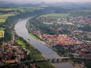 Vacation and holidays in Pirna, the gateway to Saxon Switzerland