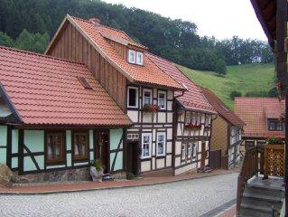 Entdecken Sie den Harz und wohnen Sie im liebevoll sanierten Fachwerkhaus