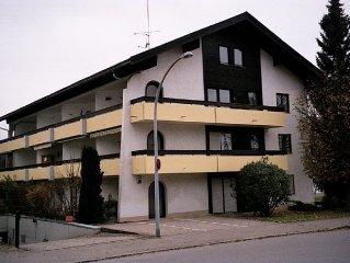 gemütliche, gut ausgestattete Ferienwohnung, zentral in Oberstdorf gelegen