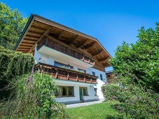 Tiroler Ferienwohnung im Chalet zentral gelegen traumhafte Aussichten IR Sauna