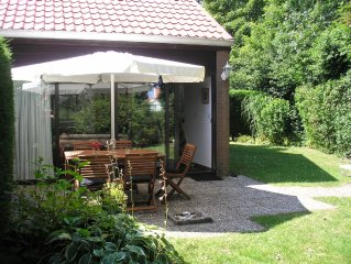 Very cosy, tranquil house at Lake Grevelingen