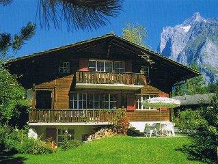 Gemütliche Wohnung mit Garten und einmaliger Aussicht, Nähe Bahnen und Skilifte