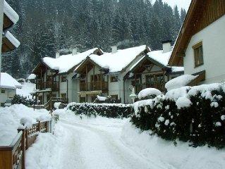Ski & Summer, Luxus eingerichtete Ferienhaus nahe  Liften.