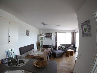 Luxus-Urlaub auf 80m² im Erdgeschoss mit Infrarotkabine u großer Sonnenterrasse