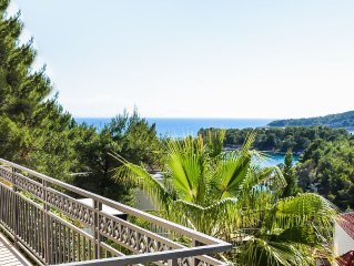 2. Reihe zum Meer - Kleine Bucht - Exclusive Lage - Familienfreundlich