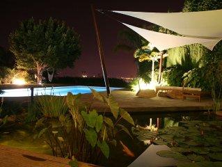 Gepflegtes Ferienhaus mit privatem Pool + BBQ und Garten!