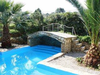 Trizonia House - Traumhafte Luxus-Villa mit Meeresblick und privatem Pool
