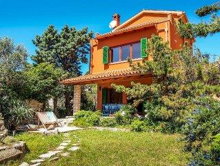 Villa Corall - 800m vom Meer, mit wunderschönen privaten Garten und Terrassen