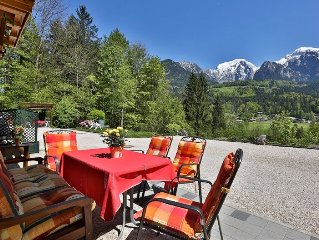 Holiday at Koenigssee!  Apartment in top location!      5 star (DTV) 90 sqm