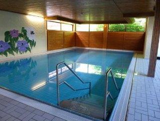 Exklusive Wohnung am Weissensee mit See- und Bergblick, Hallenbad, Tennis,  Sauna