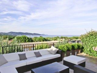 Traumhaftes Luxus-Appartement mit Panorama-Meerblick am Golf von St. Tropez