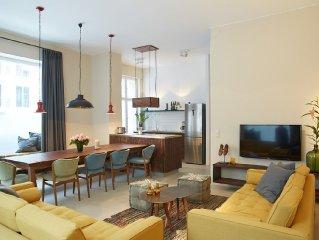 Wunderschönes 160qm großes Apartment für bis zu 11 Personen in Pankow/Przl`Berg