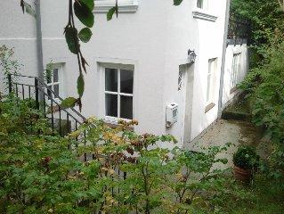 Charmante Gartengeschoss-Wohnung mit 95m² in Altbau-Villa, 20 Min. zum Hbf./City
