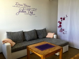 Moderne Studio-Wohnung mit einmaliger Aussicht