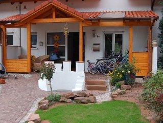 Großzügige Ferienwohung mit Flair (105 m²), Rückzugsmöglichkeiten, Kamin