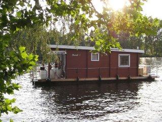 Komfortables Hausboot in Berlin und Brandenburg! Ohne Fuhrerschein!!!!