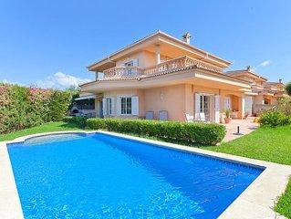Wunderschöne Villa bis 8 Pers. mit Pool, zw. Palma und Tramuntana-Gebirge, WLAN