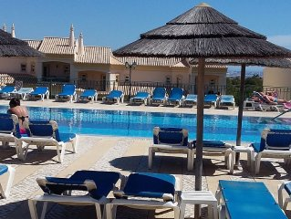 Fantastic dream apartment directly at the golf resort overlooking the pool