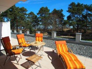 Exkusive Meerblick-Wohnung mit Schwimmbad und Sauna, W-Lan
