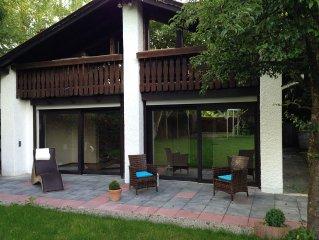 Haus am See, mitten in Munchen