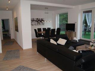 Am Bach3 mit 120qm Wohnfläche und 110 qm Dachterrasse und Bachblick