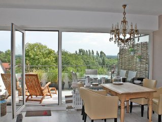 Weitblick uber Timmendorf in einer modernen, gemutlichen Wohnung
