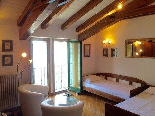 Appartement direkt am Luganer See mit Panoramablick in San Mamete