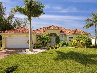 Luxury Home, southern exposure, 2012, heated pool & Spa, SW area, gulf access