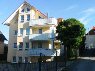 Ruhige Ferienwohnung am Südrand von Dresden im Stadtteil Nickern