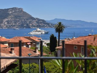 St-Jean-Cap-Ferrat, seaview, historic, design, new, large garden