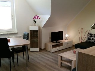 Casa mia Luna: top gepflegte Wohnung, Komfortbett