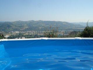 Bed and Breakfast in neuem Niedriegenergiehaus am Rande von Acqui Terme