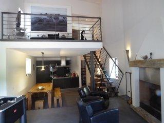 Moderne Loft im Tessin, ruhig gelegen, familienfreundlich, Pool, Motorboot 8PS