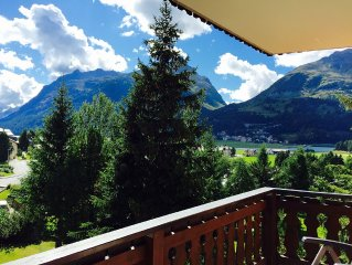 Apartment with swimming pool and the longest sunshine throughout the Engadin