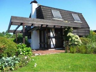 Ferienhaus mit Kamin, Nordseebad Burhave, Strandnah, Zentral,Familienfreundlich
