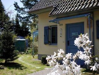 Ferienhaus 'Hendrikje' am Haff im idyllischen Kamminke, WLAN, Sauna, Kaminofen