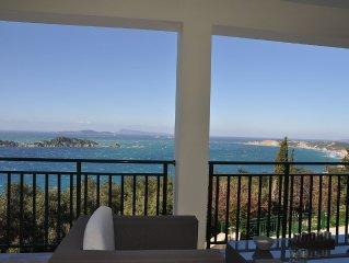 Exklusiver TRAUMURLAUB in Villa Athena, Afionas mit atemberaubendem Blick