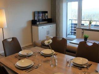 Neu renovierte Wohnung für 4-6 Personen mit Aufzug + WLAN