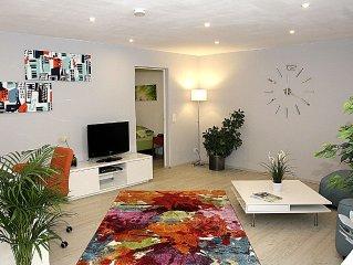 Modern ausgestattetes, ruhig und zentral gelegenes Apartment und Ferienwohnung