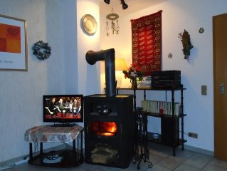 VERY QUIET !! Apartment in -> TOPLAGE <- to SKI, bike park with FIREPLACE and W
