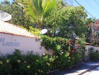Schönes Ferienhaus mit Privatsteg zum Meer in Santo André.