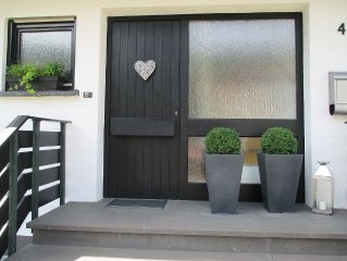 Schönes 1Raum Appartement 70qm für 2 Personen,Badezimmer mit Dusche &Badewanne